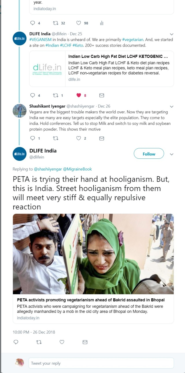 anti-veganism in India